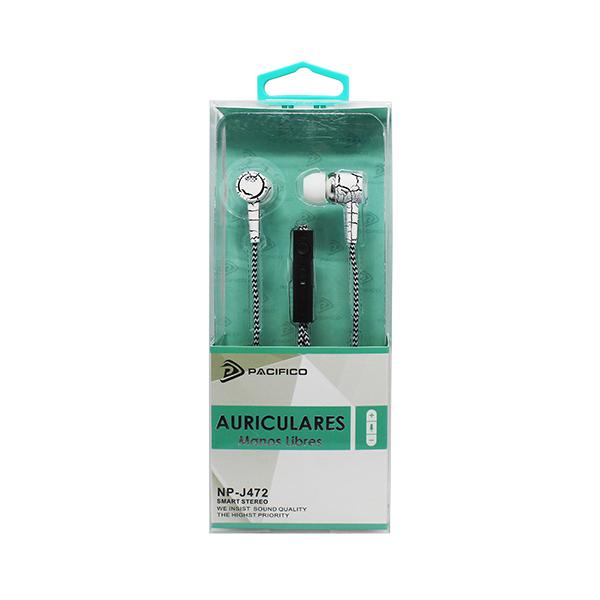 Auriculares np-j472 – paquete 12 uds colores variados 3