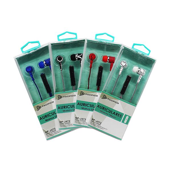 Auriculares np-j472 – paquete 12 uds colores variados 1