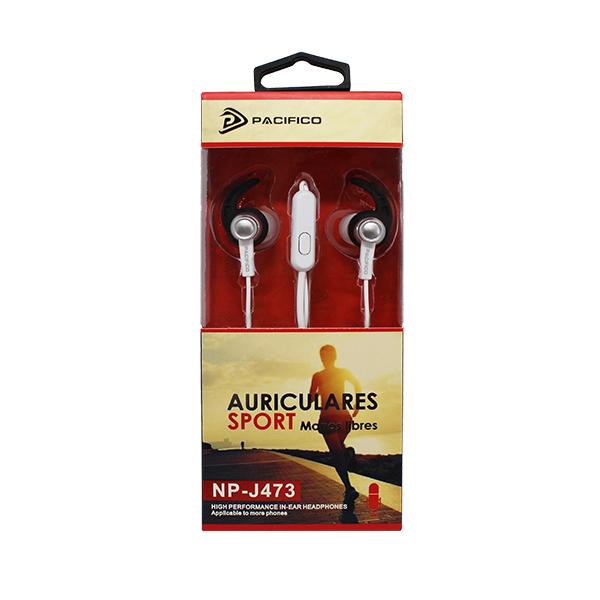 Auriculares deportivos np-j473 – paquete 12 uds colores variados 3