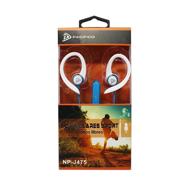 Auriculares deportivos np-j475 – paquete 12 uds colores variados 2