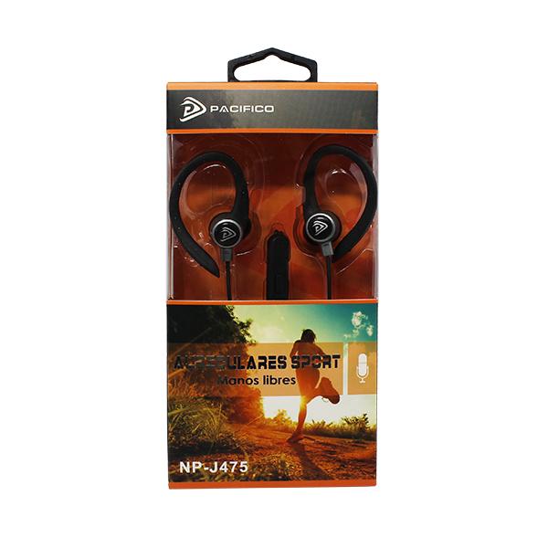 Auriculares deportivos np-j475 – paquete 12 uds colores variados 3