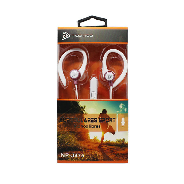 Auriculares deportivos np-j475 – paquete 12 uds colores variados 5