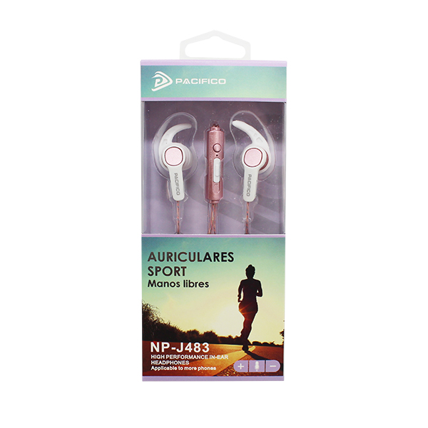 Auriculares deportivos np-j483 – paquete 12 uds colores variados 5