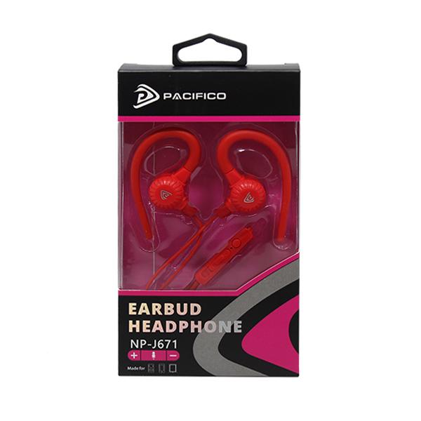 Auriculares con microfono np-j671-paquete 12 uds colores variados 4