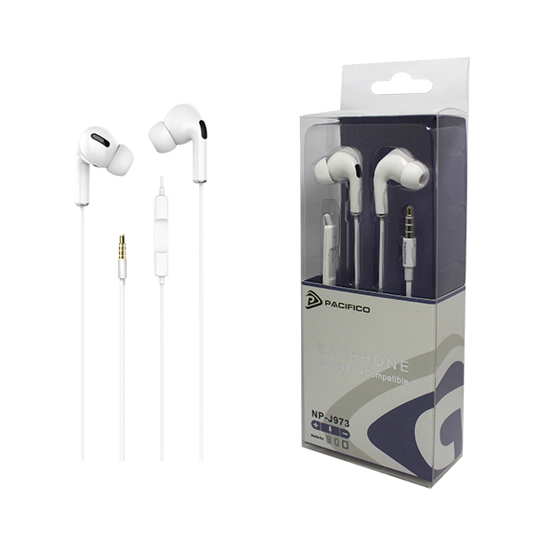 Auriculares con micrófono np-j973 1