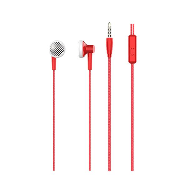 Auriculares con micrófono np-j979 rojo 2