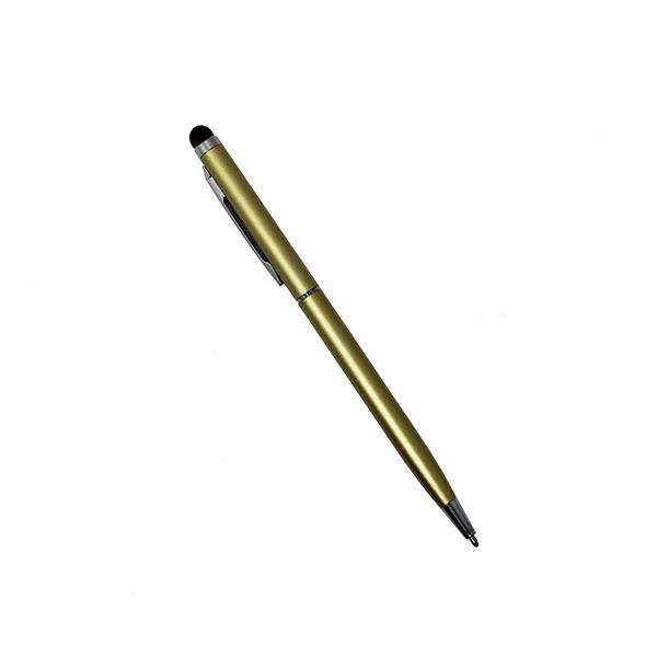 Puntero 2 en 1, táctil y bolígrafo np-u937 -dorado 2