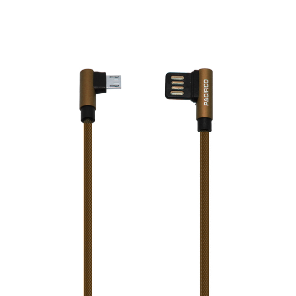 Cable micro usb v8 – usb 1m np-i503 marrón 2
