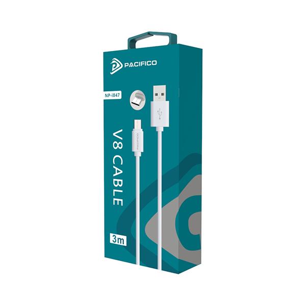 Cable micro usb v8 de 3m np-i847 3