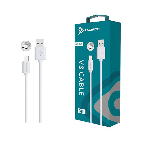Cable micro usb v8 de 3m np-i847 1