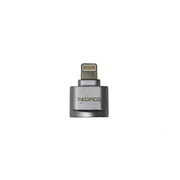 Lector de tarjetas micro sd conector lightning np-i951 -plata 3