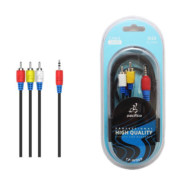 Cable dc3. 5 m/3rca m 1. 5m – tp-w069 1