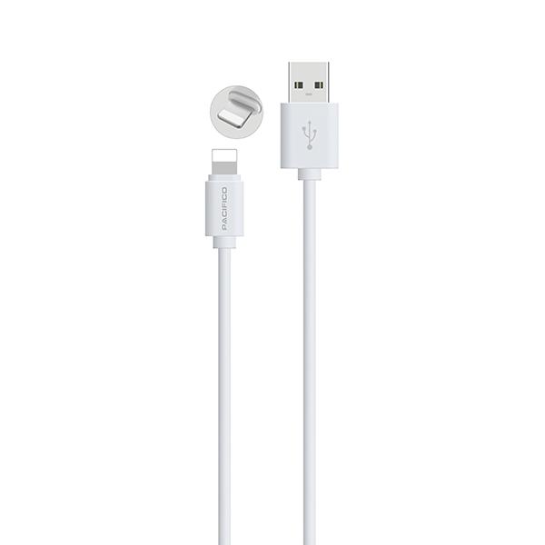 Cable para iphone 6/7/8/x de 1m np-c195/i195 – blanco 2