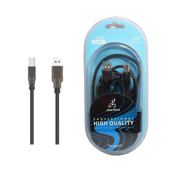 Cable usb am/bm 3m – tp-w052 1